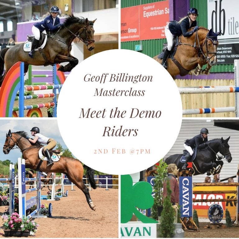 Geoff Billington Masterclass -Meet the Demo Riders