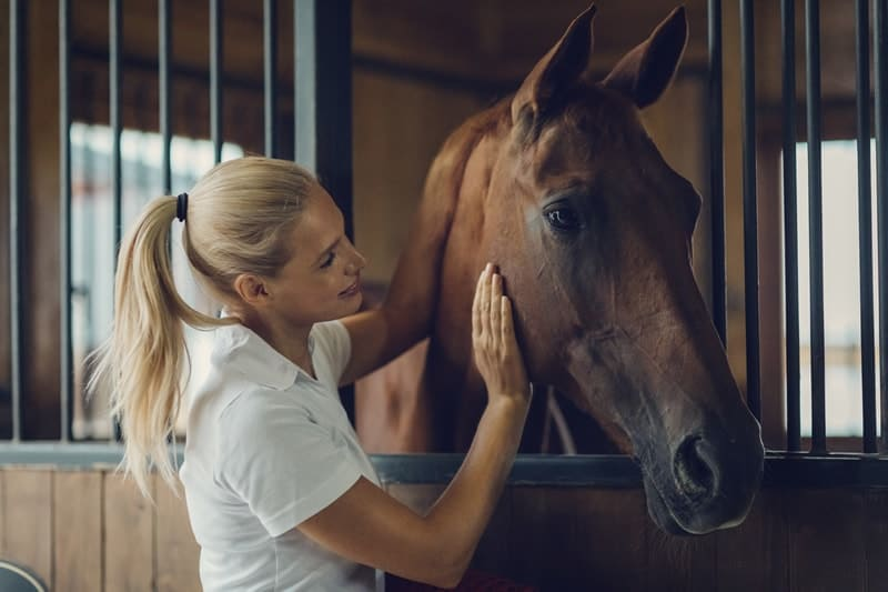 Bluegrass recommends what to do if your horse is suffering from EGUS