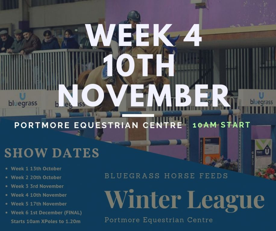 Growing Entries After Week 4 of The Bluegrass Horse Feeds Winter League